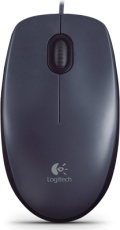 Мышь Logitech Mouse M90 Black USB